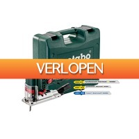 Gereedschapcentrum.nl: Metabo STE 100 QUICK SET Decoupeerzaag incl. 20 decoupeerzaagbladen in koffer - 710W - T-greep - variabel