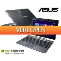 Groupdeal: Refurbished Asus Transformer T100TA laptop