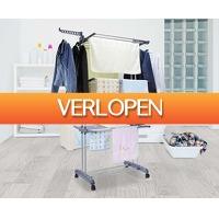 Voordeelvanger.nl: XL inklapbaar wasrek