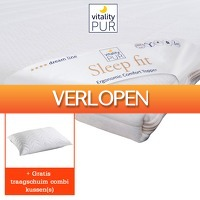 One Day Only: Sleep fit traagschuim topdekmatras