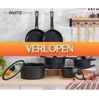 Voordeelvanger.nl: 10-delige keramische pannenset