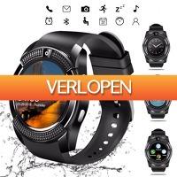 DealDigger.nl: V8 waterbestendige Bluetooth smartwatch