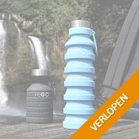 H2GO opvouwbare waterfles