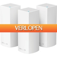 Coolblue.nl 1: Linksys Velop tri-band Multiroom wifi (3 stations)