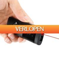 DealDigger.nl 2: Mini laser afstandsmeter