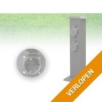Smartwares outdoor stroompaal