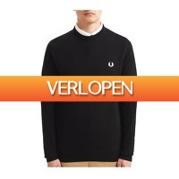 Plutosport offer: Fred Perry Classic Merino Crew Neck sweater