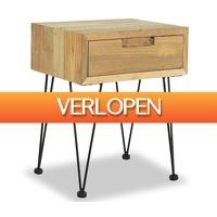 VidaXL.nl: vidaXL nachtkastje