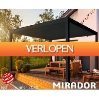 Telegraaf Aanbiedingen: Moderne terrasoverkapping