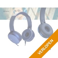Sony MDR-XB550 extra bass koptelefoon