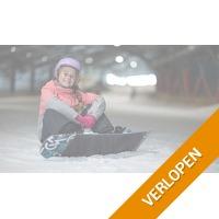 Skien/snowboarden bij De Uithof
