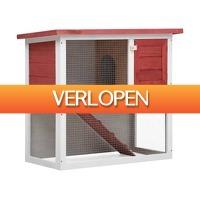 VidaXL.nl: vidaXL konijnenhok voor buiten