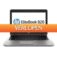 Telegraaf Aanbiedingen: Refurbished HP laptop 820 G1