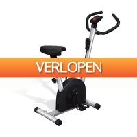 VidaXL.nl: vidaXL hometrainer met zadel