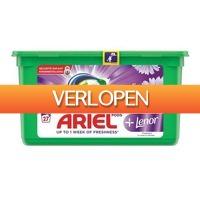 Plein.nl: 3 x Ariel wasmiddel 3-in-1 pods