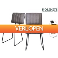 iBOOD Home & Living: 2x No Limits by Brinker Eetkamerstoel Ford