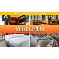 SocialDeal.nl: Overnachting + ontbijt voor 2 in Amsterdam Oud-Zuid