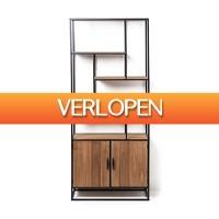 Xenos.nl: Vakkenkast Charlie met deuren