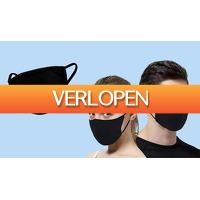 ActievandeDag.nl 1: Set van 3 wasbare mondkapjes