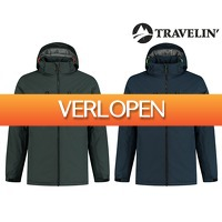 Groupdeal: Travelin' Keflavik heren winterjas