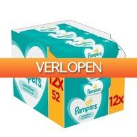 Voordeeldrogisterij.nl: Pampers babydoekjes Sensitive