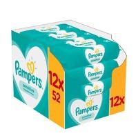 Bekijk de deal van Voordeeldrogisterij.nl: Pampers babydoekjes Sensitive