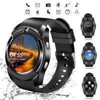 Bekijk de deal van DealDigger.nl: V8 waterbestendige Bluetooth smartwatch