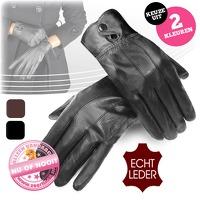 Bekijk de deal van voorHAAR.nl: Lederen handschoenen