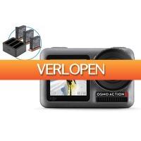 iBOOD.be: DJI Osmo Action + charging kit
