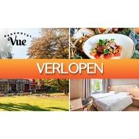 SocialDeal.nl: Hotelovernachting(en) + drankje voor 2 bij Berghotel Vue