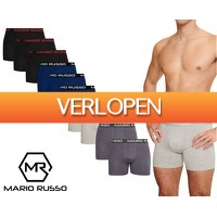 Groupdeal: 10-pack Mario Russo boxers