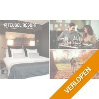 Overnachting en ontbijt voor 2 bij Teugel Resort Uden