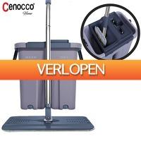 Elkedagietsleuks Ladies: Cenocco vlakke mop