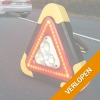 Oplaadbare LED-gevarendriehoek