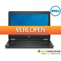 Telegraaf Aanbiedingen: Refurbished Dell Latitude E7450 laptop