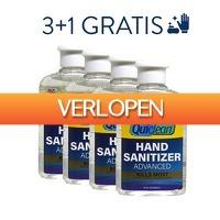 DealDigger.nl: 4 x Quiclean desinfecterende handgel