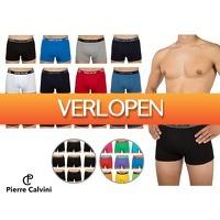 Voordeelvanger.nl: 12 x Pierre Calvini boxershort