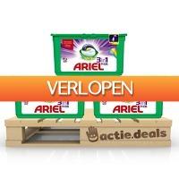 Actie.deals: Ariel 3-in-1 Pods Colour & Style - kwartaalbox 105 wasbeurten