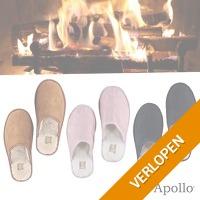 Warme Apollo pantoffels