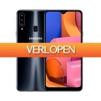 Expert.nl: Samsung smartphone Galaxy A20s incl. KPN prepaid SIM 2GB Data