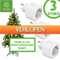 6deals.nl: WOOX Smart Plugs (3 stuks)