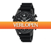 Koopjedeal.nl 3: Luxe Aviator Smartwatch | Eenvoudig te koppelen aan je smartphone