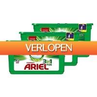 Tripper Producten: Ariel 3in1 wasmiddelpods Regular