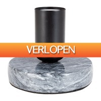 Xenos.nl: Tafellamp grijs marmer