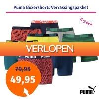 1dagactie.nl: Puma boxershorts 8-pack verrassingspakket