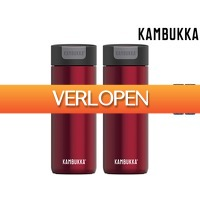 iBOOD Home & Living: 2 x Kambukka Olympus thermosbeker