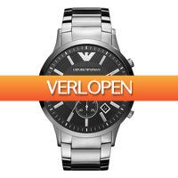 Watch2day.nl: Emporio Armani Chronograph heren horloge