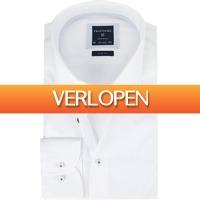 Suitableshop: Profuomo overhemd Slim Fit Cutaway