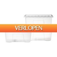 Xenos.nl: Opbergbox Quasar - 3 x 50 liter