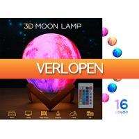 DealDonkey.com: FEDEC 3D maanlamp